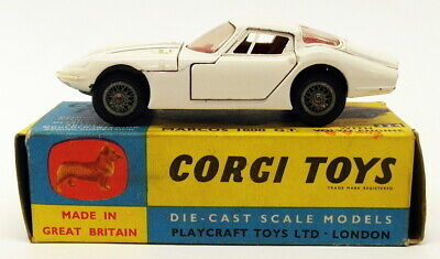 Corgi Toys Vintage Model Car 324 - Marcos 1800 GT Volvo Engine