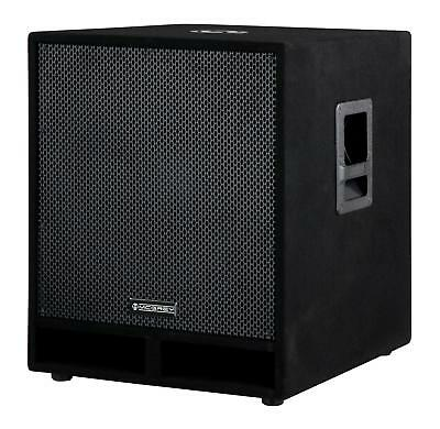 "DJ PA Subwoofer Disco Bass Party Box 45cm (18"") Woofer Bass-Reflex System 1800W"