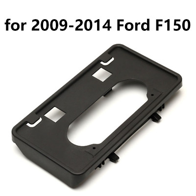 For 2009-2014 Ford F150 Front Bumper License Plate Holder Mounting Bracket 09-14