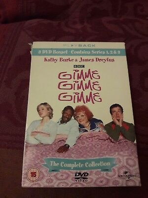 gimme gimme gimme the complete collection dvd