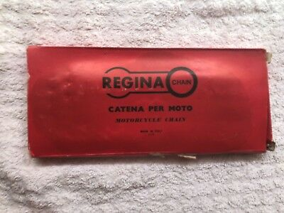 NEW OLD STOCK REGINA CHAIN WITH SPLIT LINK 1/2 x 5/16 110 LINKS 428 CHAIN