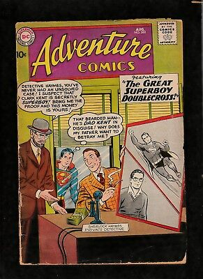 """Adventure Comics #263 1959  Dc Silver Age  """"great Superboy Doublecross Solid Fr"""