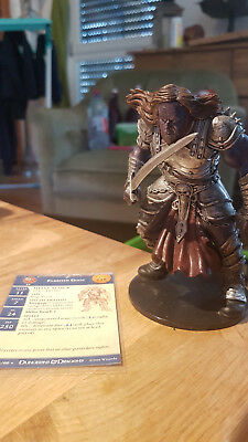 D&D Miniatures: Eldritch Giant (War of the Dragon Queen 34, Rare) + Statkarte
