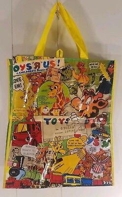 Geoffrey Toys R Us Tote Vintage  Advertisements Exclusive Used Shopping Bag