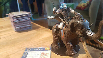 D&D Miniatures: Tundra Scout (War of the Dragon Queen 57, Rare) + Statkarte