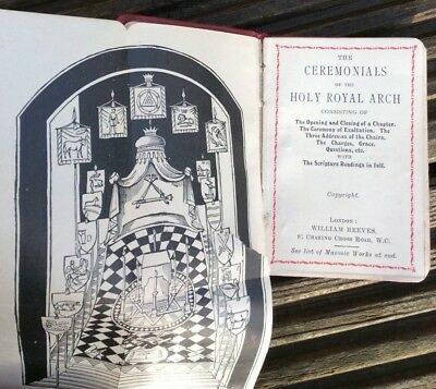Ceremonials of the Holy Royal Arch mniature book