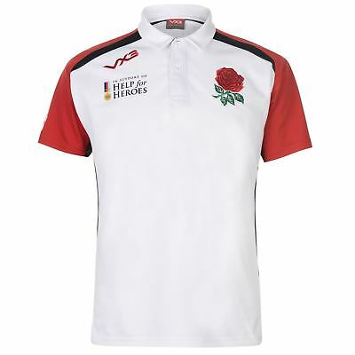 Genuine VX3 Help for Heroes England Rugby Men's Polo Shirt 2018/19, Size: S -XXL