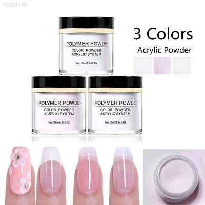 8EF2 Nail Art 3D Extension Acrylic Powder Builder Fashion
