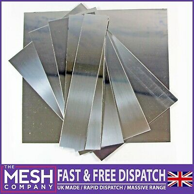 0.5mm Stainless Steel 430 Polished Sheet Plate UK Made 1st Class Post