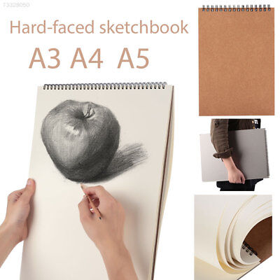 B3ED Drawing Book A3 A4 A5 Hard Cover Art Supplies Painting Sketch Book
