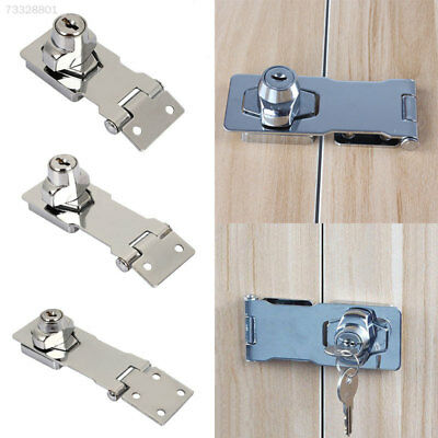 B8E6 Cabinet Lock Aluminum Alloy Silver Locks Cupboard Door Lock Wooden Door