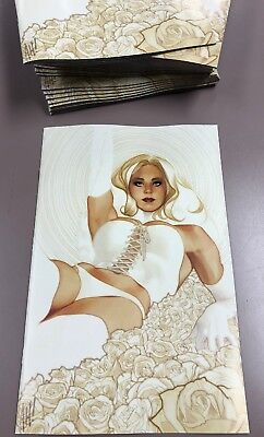 X-Men Black Emma Frost #1 Adam Hughes Virgin Variant Only 1000 Made! White Queen