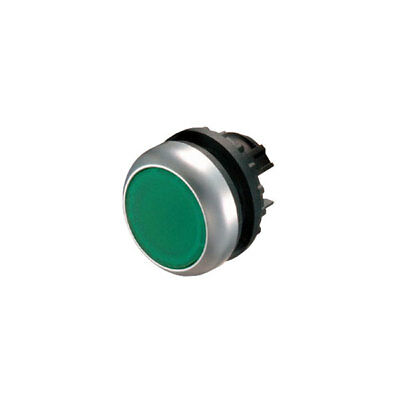EATON M22-D-G Actuator Push Green Flush 216596