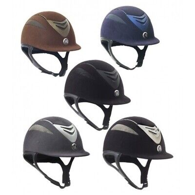 One K Defender Suede Riding Helmet Moisture Wicking with Several Vents