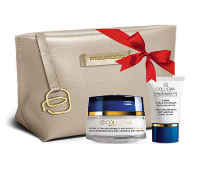 Crema Ultra-Rigenerante Antirughe Giorno + Crema Notte 15 Ml + Beauty Bag