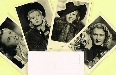 ROSS VERLAG - 1940s Film Star Postcards produced in Germany #A3201 to #A3266