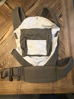 EUC Onya Baby Outback Baby Carrier Chocolate Chip / Ivory