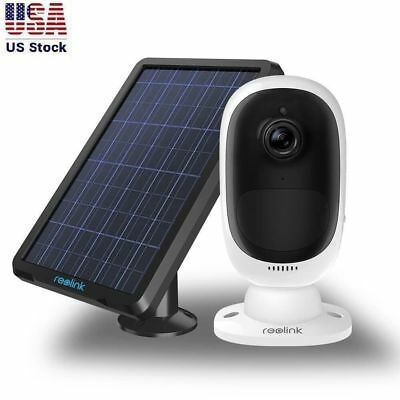 Security IP Camera Wireless Rechargeable Battery/Solar Powered Reolink Argus 2