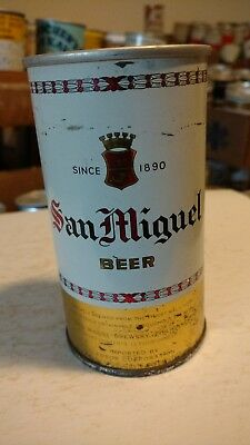 San Miguel Beer Bottom Opened Pull Tab Beer Can Philippines