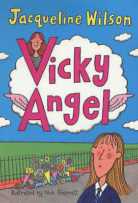 Vicky Angel by Jacqueline Wilson, Good Book (Paperback) Fast & FREE Delivery!