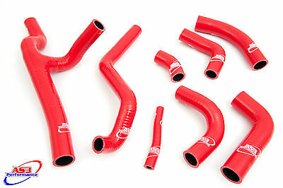 Ducati St4S St4 S 2001-2005 High Performance Silicone Radiator Hoses Red