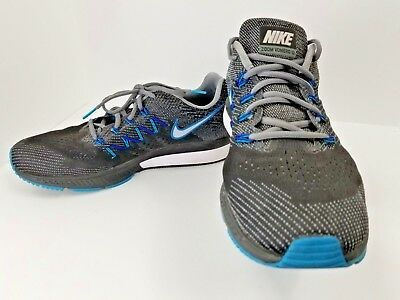 638f3a22cca Nike Zoom Vomero 10 717440-001 Size 11.5 M Black Blue Sneakers Running Men  Shoes