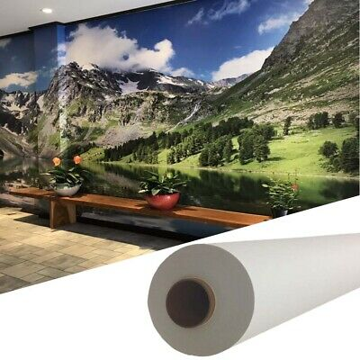 """Self-adhesive Inkjet Fabric Wallpaper,Wallcovering Wall Decals 60""""x100ft / roll"""