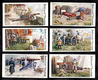 Canons Through The Ages Stollwerck 1900 Album Card Set Soldier Military War Army