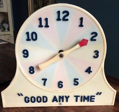 """Miracle Clock Trade Stimulator WORKS!!! """"GOOD ANY TIME"""" Vintage Collectible"""