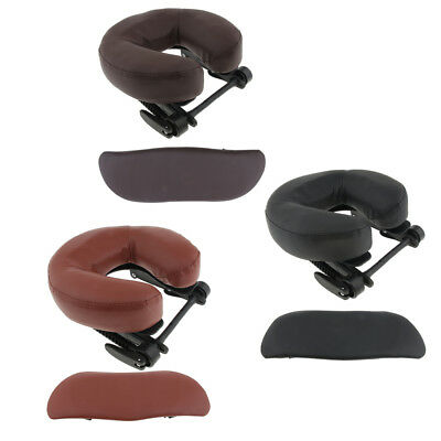 3pcs Face Down Cradle Cushion Arm Support Pillow Set for Massage Table Bed