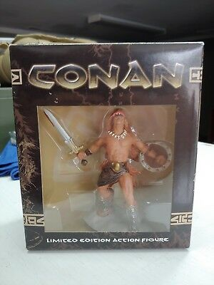 Conan Statue. Dark Horse Comics. From the video game