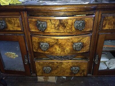 Table Wooden Chest Of Drawers Antique