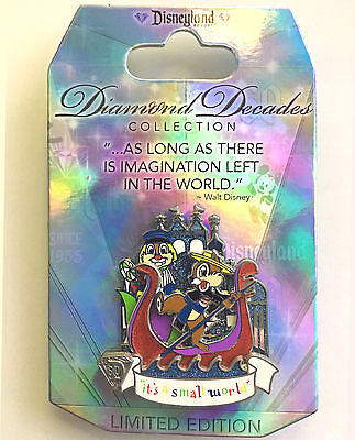 Disney Collector Pin Its A Small World LE 3000 2015 Disneyland Exclusive