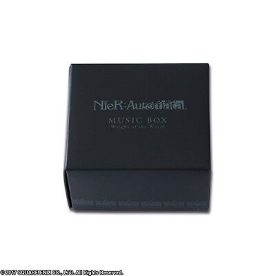 SQUARE ENIX Nier Automata Music Box Weight of the World Black NEW Gift F/S