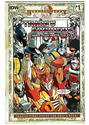 Transformers More Than Meets the Eye #1 Hundred Penny Press Reprint
