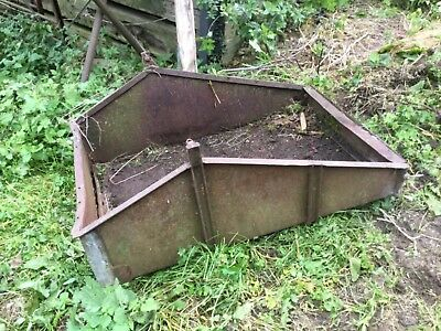 Vintage Massey ferguson Link Transport Box, Milk Churn Carrier,