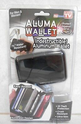 Aluma Wallet As Seen On Tv Protect Against Rfid Theft