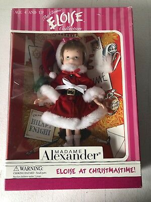 Brand New: MADAME Alexander, The Classic Eloise Collection~ Eloise At Christmas