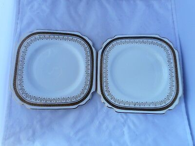 TWO GEORGE JONES& SONS SIDE PLATES(18.5cms wide)pattern E2272 5