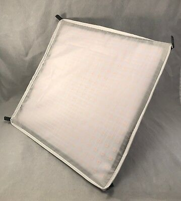 "WESTCOTT FLEX TUNGSTEN LED MAT 10""x10""  ITEM # 7401 W/ LIGHT DIMMER & SOFT BOX"