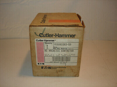 Cutler Hammer 9560H1563 6-331-39 AC Magnetic Contactor 75A 3P 600V