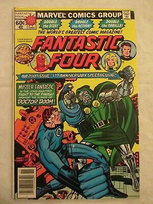 Fantastic Four volume 1 #200 Large issue 1978 Wolfman , Pollard Sinnot