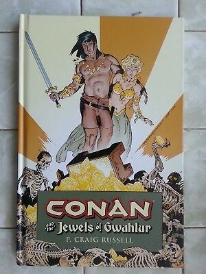 Conan and the Jewels of Gwahlur HARDCOVER - P.Craig Russell