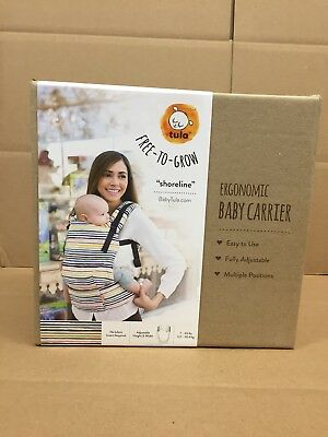 Tula Free-to-Grow Baby Carrier Shoreline