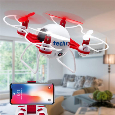 RC TR001 Mini Drone with HD Camera WiFi FPV Live Video 2.4GHz 6 Axis Gyro NEW