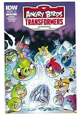Transformers Angry Birds #1 - #4 - Complete Series!