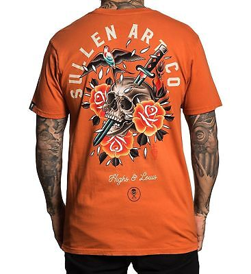 Sullen Art Collective Mens Getting Hammered Short Sleeve Tee