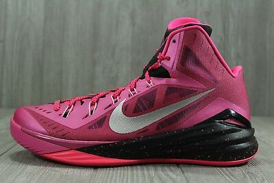0dfe62008e1a 35 Rare Nike Hyperdunk 2014 BCA Breast Cancer Basketball Shoes 13 653640-606