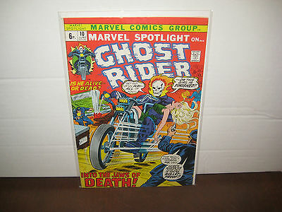 Marvel Spotlight 10 - 1st app' & Origin Witch Woman ~ 6th Appearance Ghost Rider