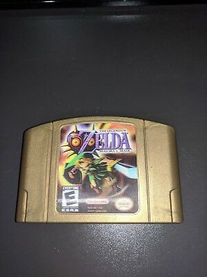 The Legend of Zelda Majora's Mask Nintendo 64 - Collector's Edition